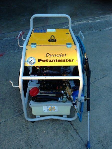 PUTZMEISTER putzmeister dynojet (maquina auxiliar para el plegado de plumas  kleine betonpomp