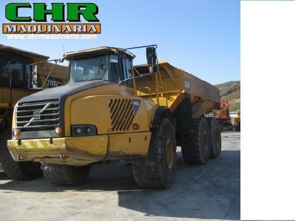 VOLVO A40 & A40D knikarm dumper