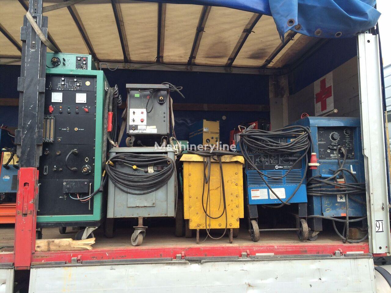 Welding machinery lasapparaten