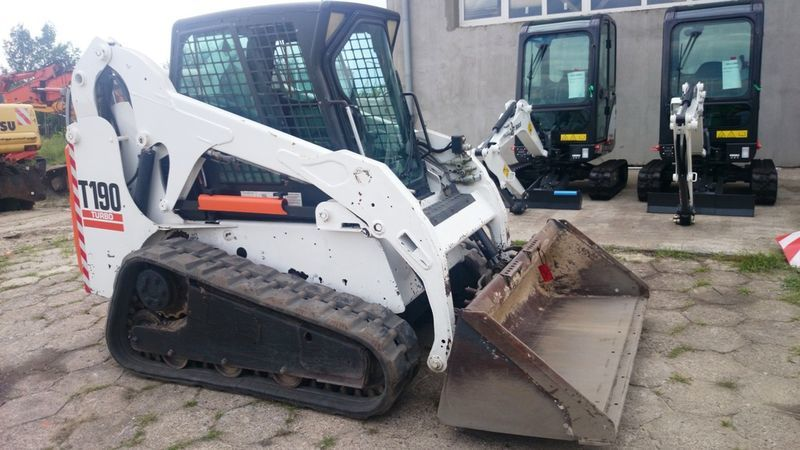 BOBCAT T190 High Flow mini-rupslader