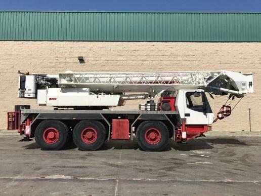 GROVE GMK 3055 - 55tons 6x6 Crane FLY JiB 58m mobiele kraan