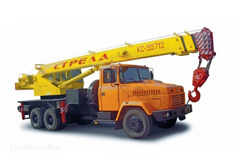 KRAZ 65053 (KTA-25) i KrAZ-63221 (KTA-25)  mobiele kraan