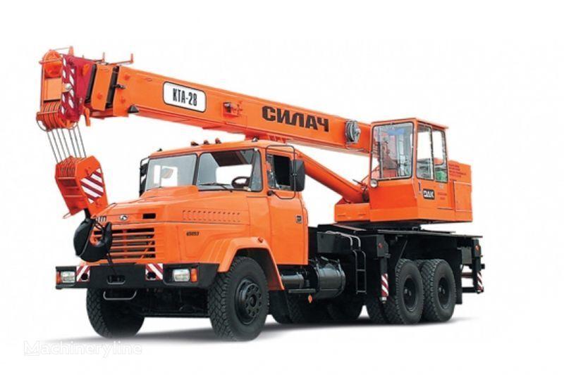 KRAZ 65053 (KTA-28)  mobiele kraan