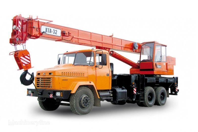 KRAZ 65053 (KTA-32)  mobiele kraan