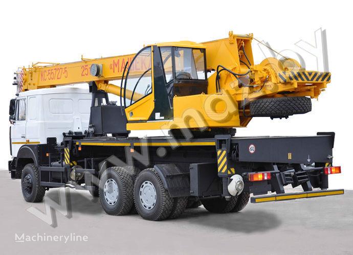 KS 3579-2, 4 op chassis MAZ mobiele kraan