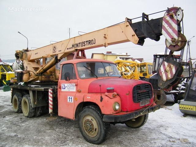 BUMAR GŁOGÓW op chassis TATRA T 148 Samojezdny mobiele kraan