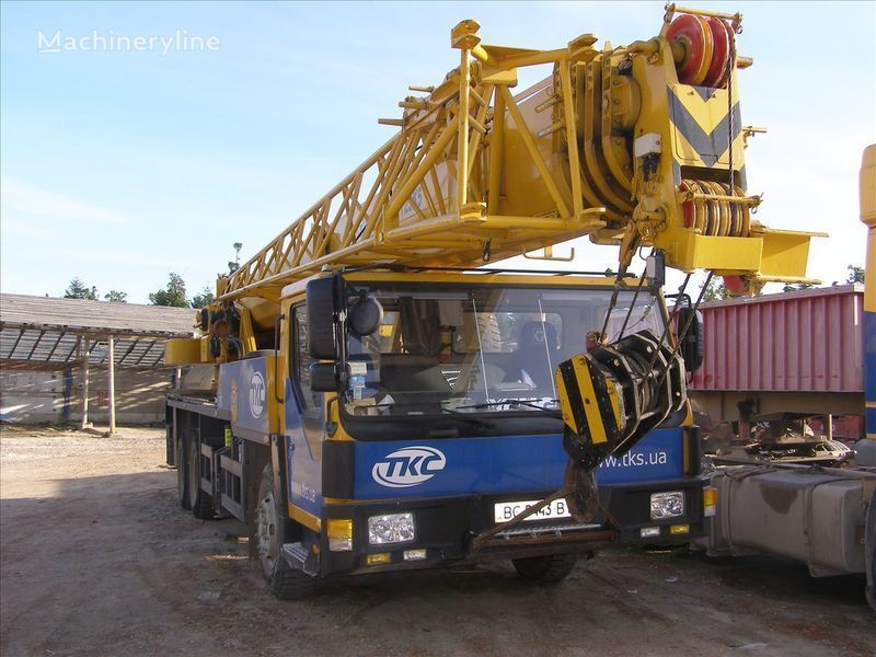 QY25K op chassis XCMG QY25K mobiele kraan