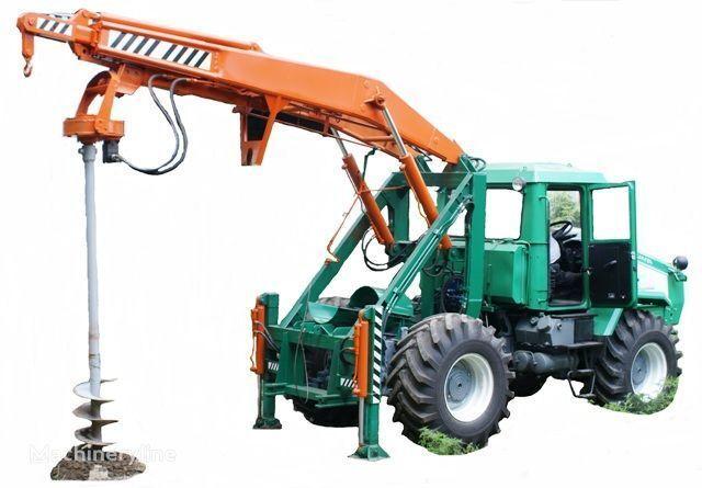 HTZ Burilno-kranovaya mashina BKM-3U na baze traktorov HTZ 150K-09, H overige