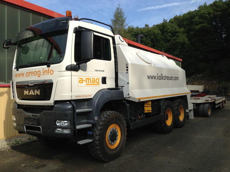 nieuw MAN TGS spreader 33.440 - 6x6 recycling machine