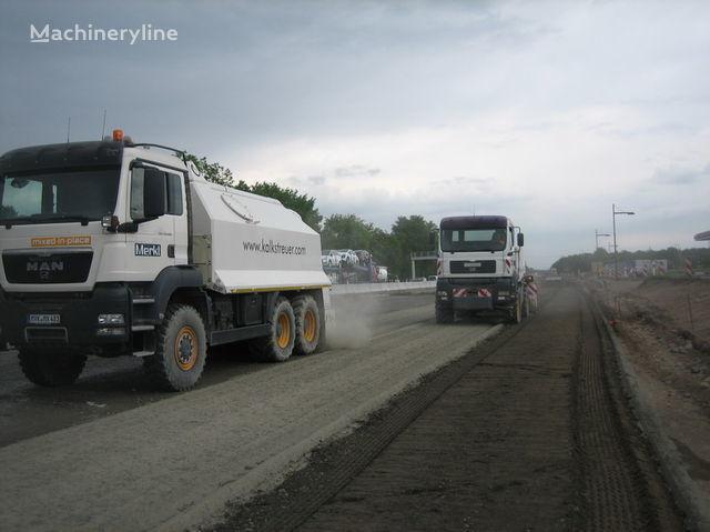 nieuw MAN amag cement spreader MAN TGS 33.440 - 6x6 recycling machine