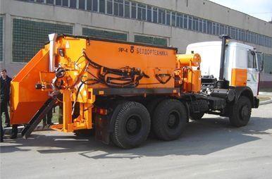 MAZ YaR-4 recycling machine