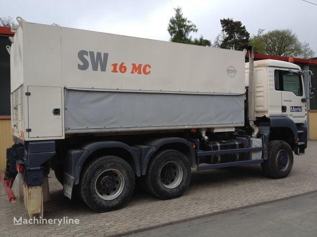 WIRTGEN Spreader Streumaster SW 16 MC recycling machine