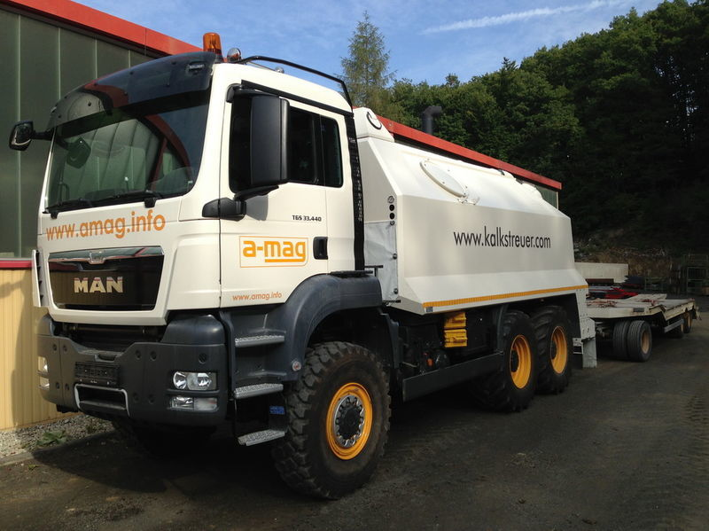 nieuw MAN TGS spreader 33.440 - 6x6 recyclingmachine