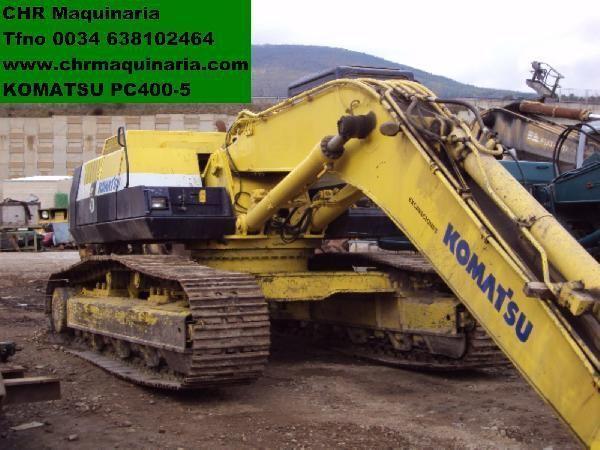 KOMATSU PC400-5 rupsgraafmachine