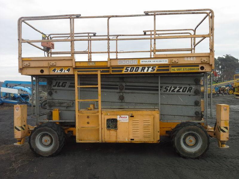 JLG 500 RTS  4*4*4 schaarlift