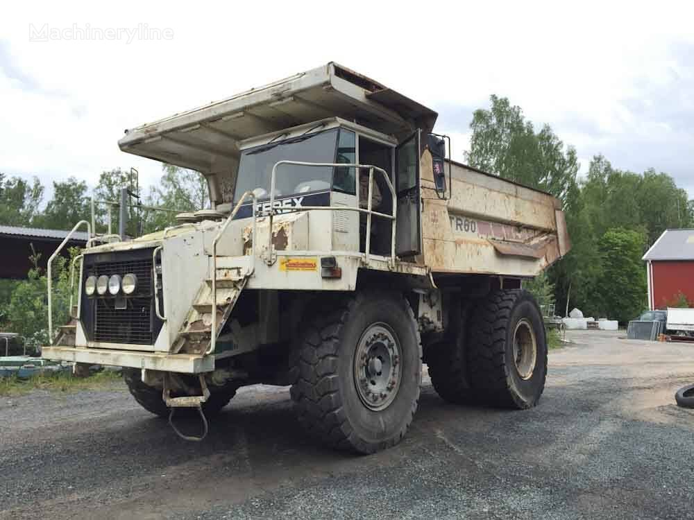 TEREX TR60 starre dumper