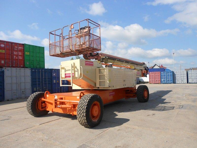 JLG 150HAX, Diesel, 4x4, 47.7m telescoophoogwerker