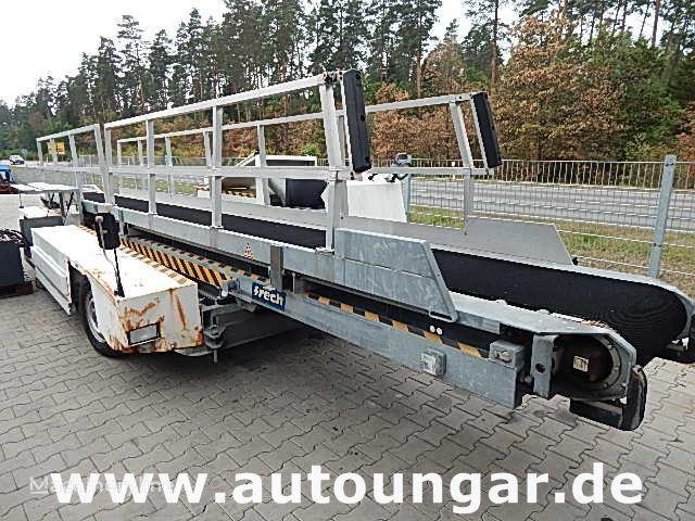 Meyer baggage conveyer belt loader Airport GSE transportband