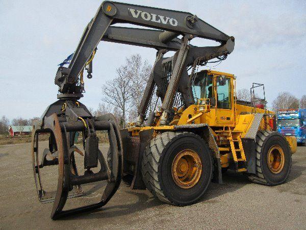 VOLVO L180D HL wiellader voor onderdelen