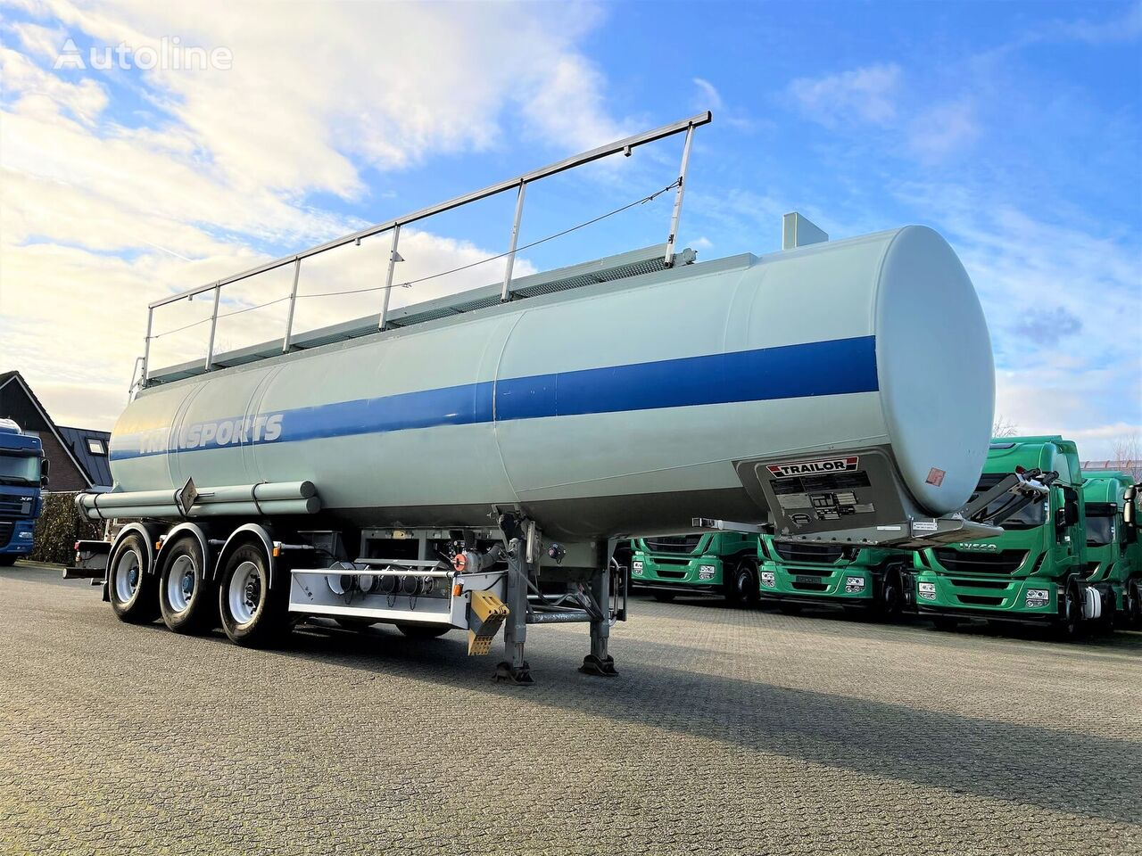 TRAILOR  ADR brandstoftank oplegger