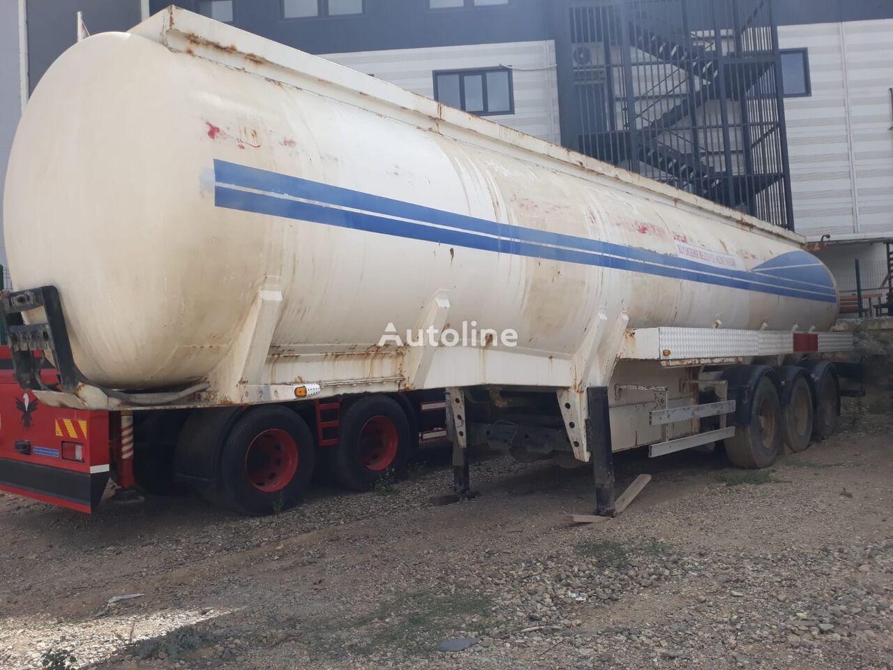 USED TANKER TRAILERS 33.000 lt / 7 compartment brandstoftank oplegger