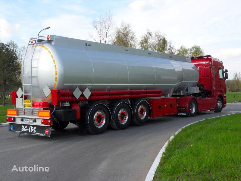 nieuw LDS NCP-37 brandstoftank oplegger