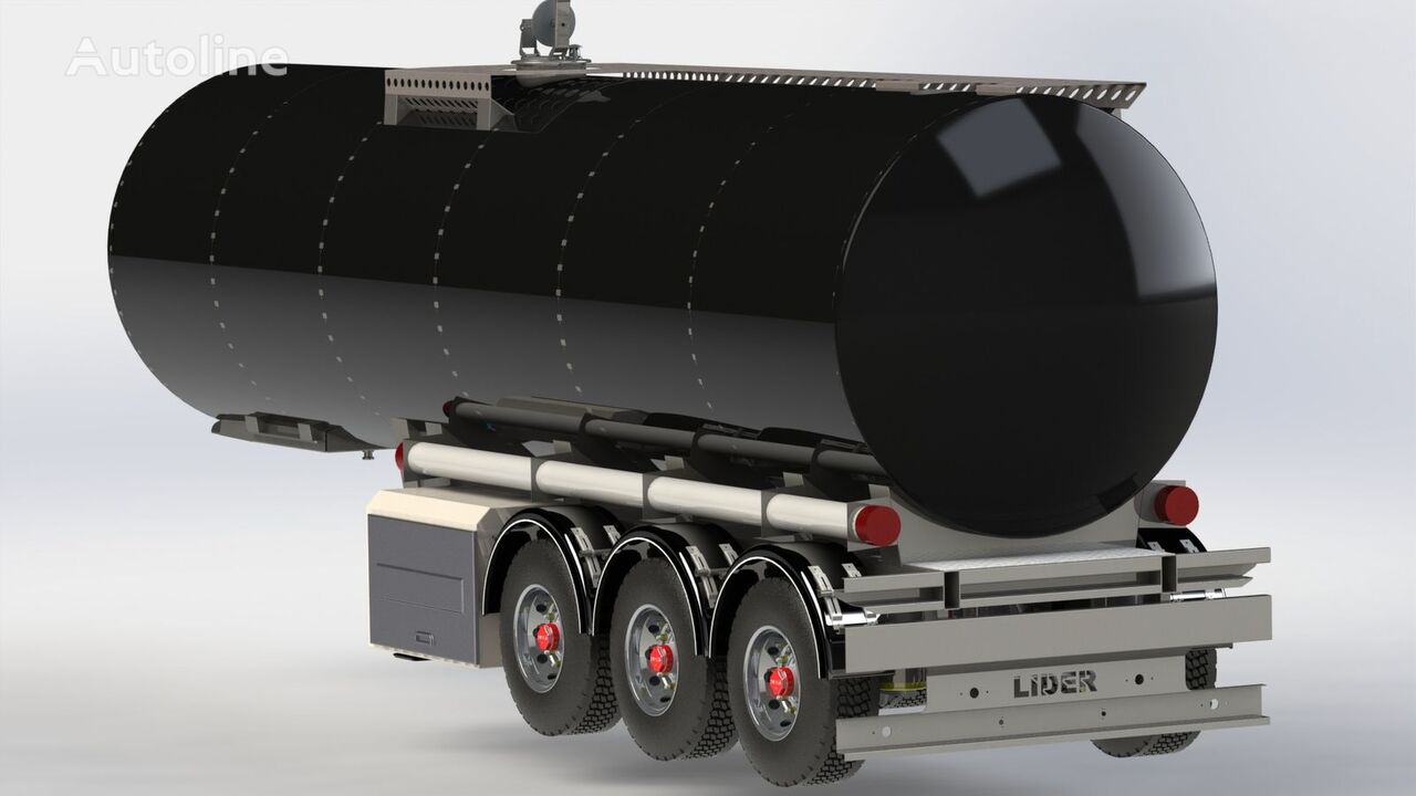 nieuw LIDER 2019 year NEW directly from manufacturer compale stockny ready a brandstoftank oplegger