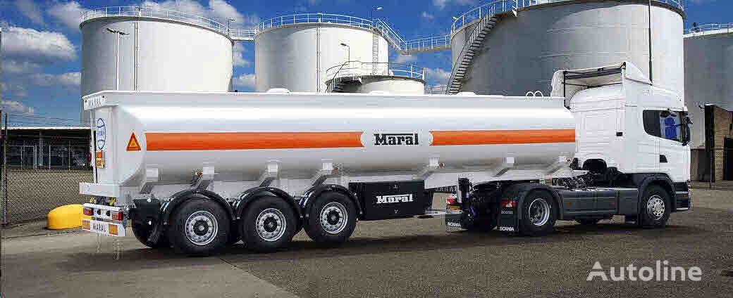 nieuw Maral Trailer TANKER  brandstoftank oplegger