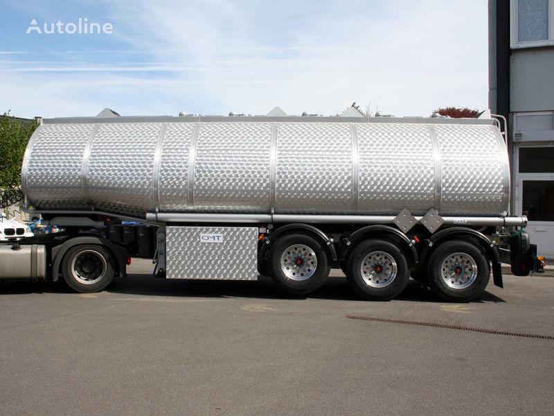 nieuw OMT fuel/benzin/diesel 25000 - 50000 Ltr brandstoftank oplegger