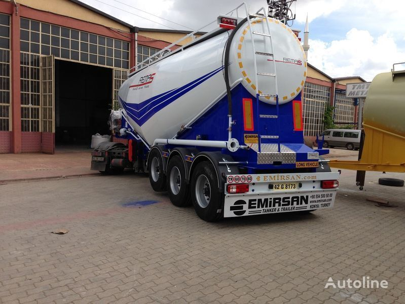 EMIRSAN Manufacturer of all kinds of cement tanker at requested specs  cement tank