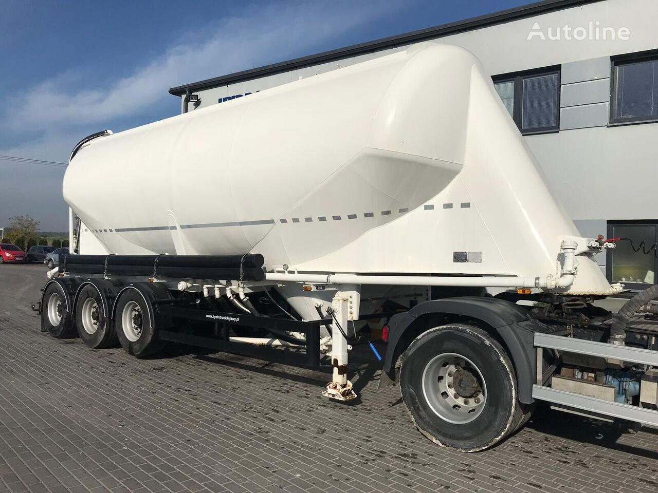 KASSBOHRER SSL35 cement tank