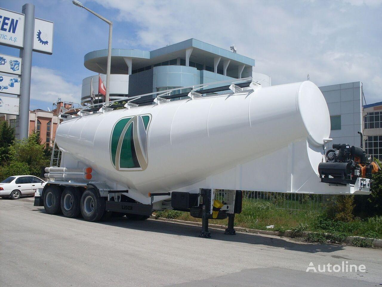 nieuw LIDER بلكر اسمنت مواصفات اوربية 2018 cement tank