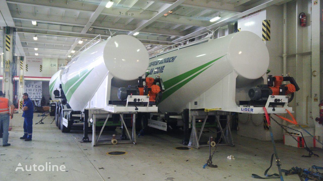 nieuw LIDER 2020 MODELS YEAR NEW (MANUFACTURER COMPANY LIDER TRAILER & TANKE cement tank