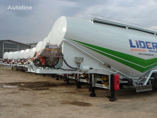 nieuw LIDER NEW ciment remorque 2017 YEAR (MANUFACTURER COMPANY) cement tank