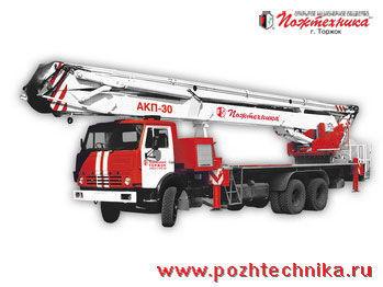 KAMAZ AKP-30 Ladderwagen