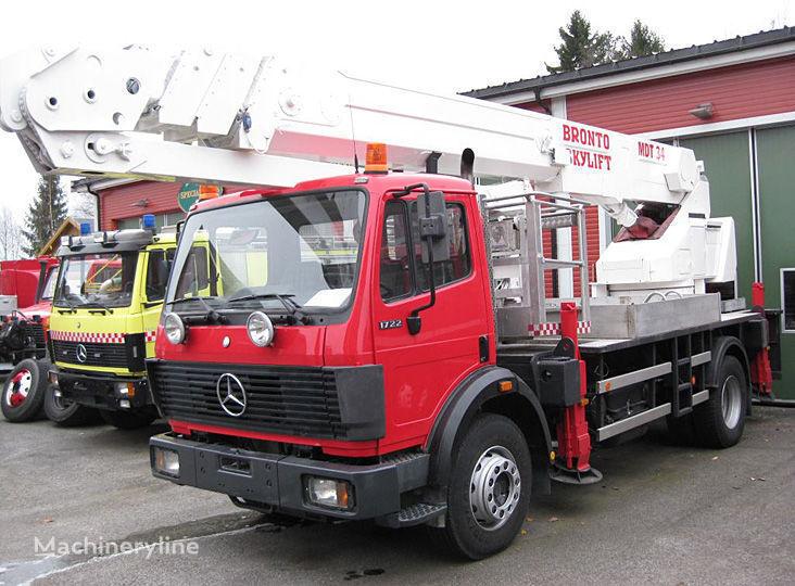 MERCEDES-BENZ 1722 4X2WD Ladderwagen