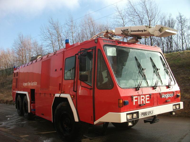 Angloco / KRONENBURG 6X6  brandweerwagen