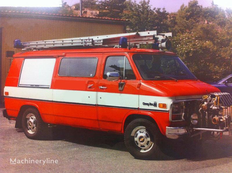 Chevrolet Van G-30 brandweerwagen