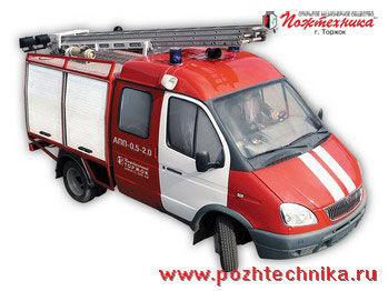 GAZ APP-0,5-2,0 Avtomobil pervoy pomoshchi     brandweerwagen