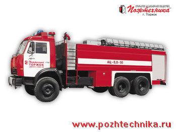 KAMAZ AC-8,8-50  brandweerwagen