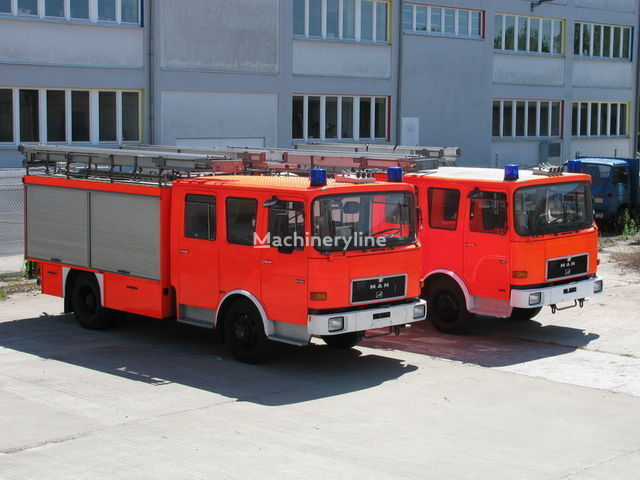 MAN TLF 14.192  1.700 Liter Wassertank 400 L Schaum brandweerwagen