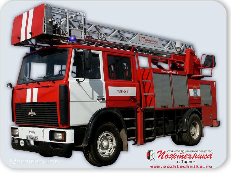 MAZ APS(L)-1,25-0,8 Avtomobil pozharno-spasatelnyy s lestnicey brandweerwagen