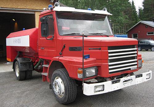 SCANIA T-112H brandweerwagen