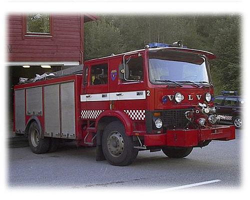 VOLVO F-720 brandweerwagen