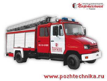ZIL AC-1,0-4/400 brandweerwagen