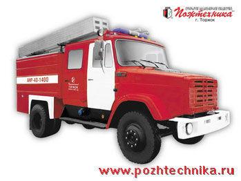 ZIL ANR-40-1400 Avtomobil nasosno-rukavnyy   brandweerwagen