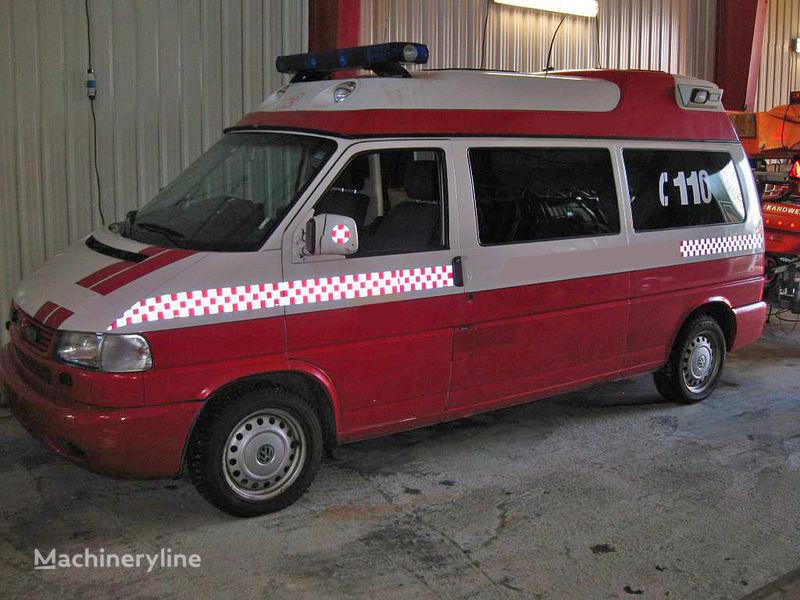 volkswagen T-4 brandweerwagen