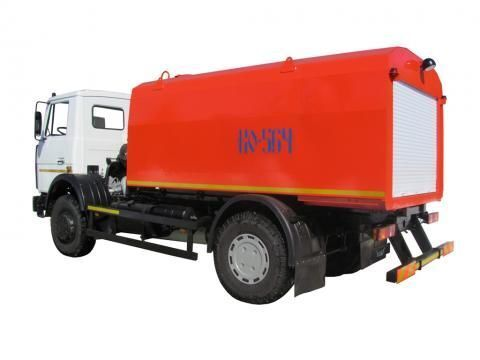 MAZ KO-564-30  hogedrukspoelwagen