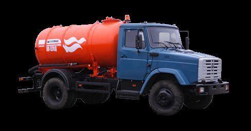 ZIL Vakuumnaya mashina KO-520 kolkenzuiger