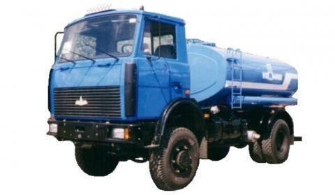 MAZ KT-506  andere gemeentelijke machines
